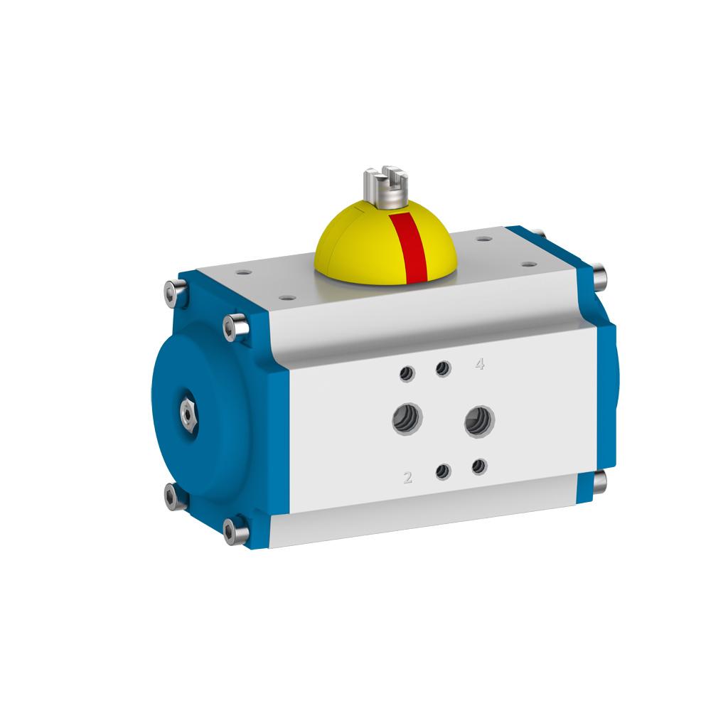 Pneumatische Schwenkantriebe / Stellantriebe