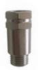 M / F - Rückschlagventil mit Kugel BSPP - Gewinde Messing vernickelt PN 10 - Eingang